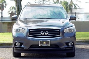 2014 INFINITI QX60 Base Carfax 1-Owner - No AccidentsDamage Reported  Gray  We are not respon