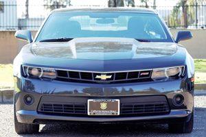 2014 Chevrolet Camaro LT Carfax 1-Owner Transmission 6-Speed Automatic Ashen Gray Metallic  W