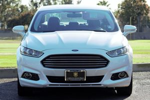 2014 Ford Fusion Titanium Carfax 1-Owner - No AccidentsDamage Reported  White  We are not res