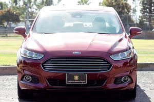 2016 Ford Fusion Energi Titanium Carfax 1-Owner - No AccidentsDamage Reported  Ruby Red Metall