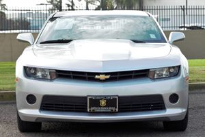 2014 Chevrolet Camaro LS Carfax 1-Owner - No AccidentsDamage Reported  Silver Ice Metallic  W