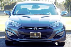 2013 Hyundai Genesis Coupe 38 Grand Touring Carfax Report - No AccidentsDamage Reported  Gray