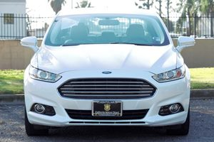 2015 Ford Fusion Titanium Carfax 1-Owner - No AccidentsDamage Reported  White  We are not res