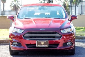 2016 Ford Fusion SE Carfax 1-Owner Engine 15L Ecoboost Ruby Red Metallic Tinted Clearco  We