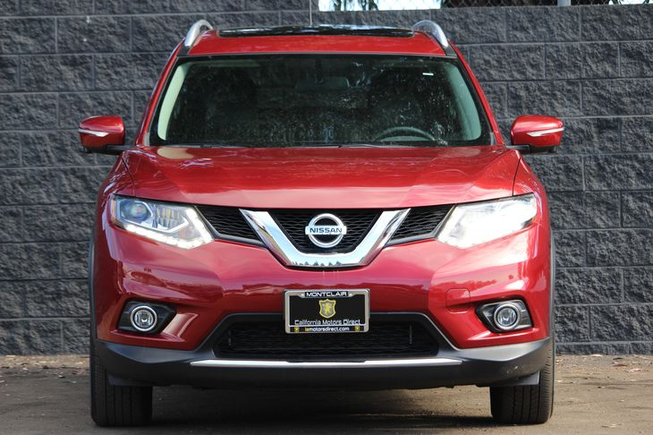 2015 Nissan Rogue SL  Cayenne Red All advertised prices exclude government fees and taxes any
