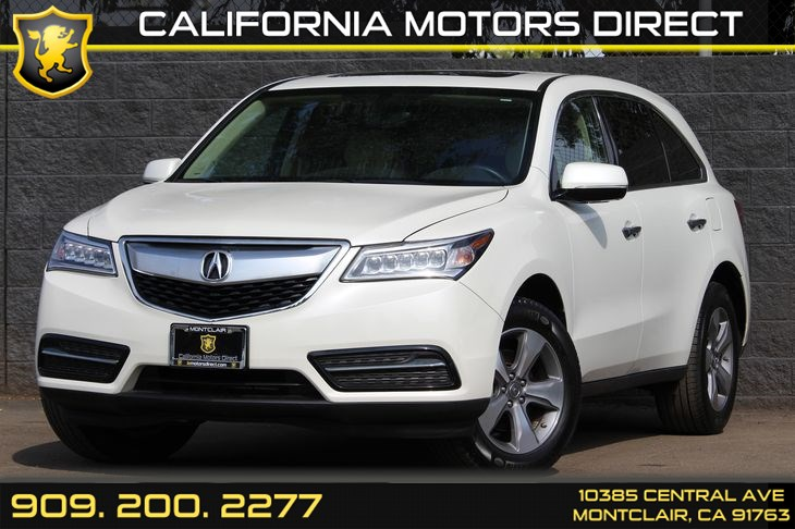 Sold 2016 Acura MDX Base in Montclair