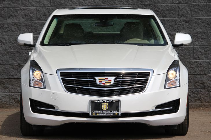 2015 Cadillac ATS Sedan 20T Luxury  Crystal White Tricoat DONT MISS OUT ON OUR SALES GOING ON