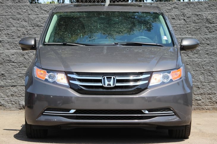 2016 Honda Odyssey EX-L  Gray All advertised prices exclude government fees and taxes any fina