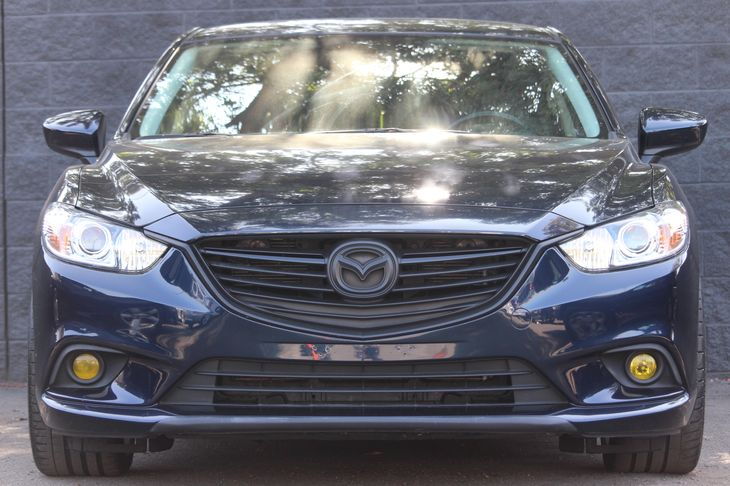 2016 Mazda Mazda6 i Touring  Blue All advertised prices exclude government fees and taxes any
