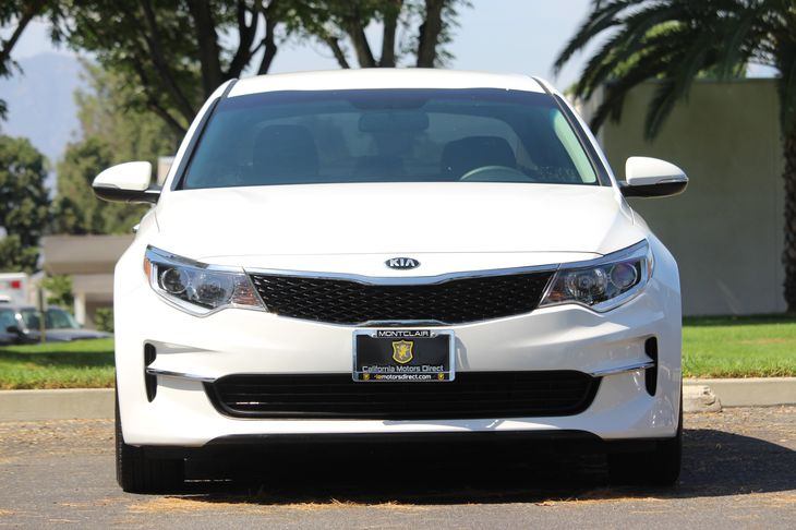 2016 Kia Optima LX  Snow White Pearl STOP BY AND CHECK OUT OUR SALES GOING ON     SWING BY AN