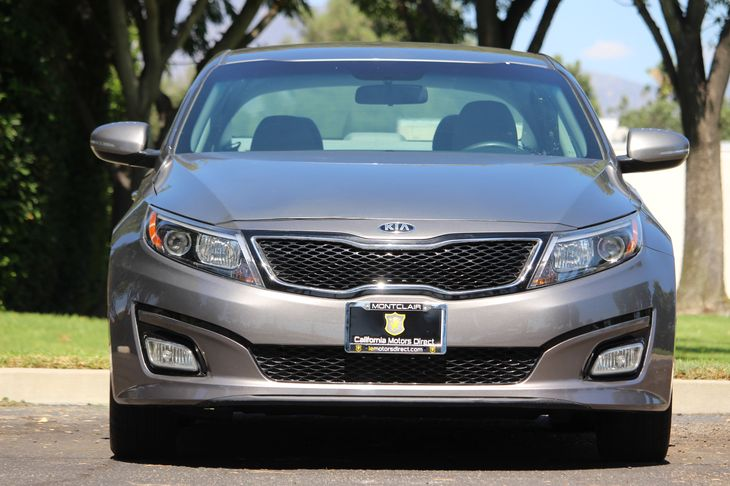 2014 Kia Optima LX  Gray All advertised prices exclude government fees and taxes any finance c
