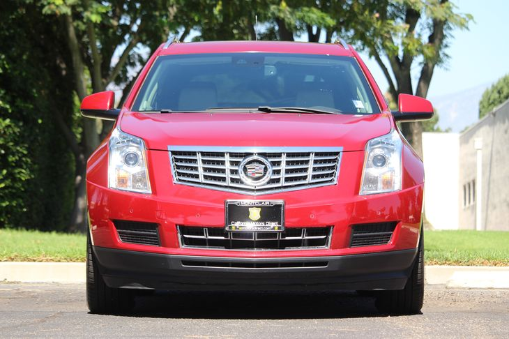 2015 Cadillac SRX Luxury Collection Engine 36L Sidi Dohc V6 Vvt Crystal Red Tintcoat All adve