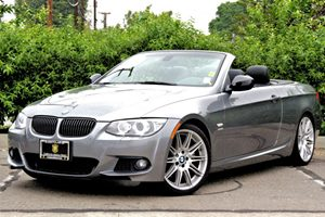 2011 BMW 3 Series 335is Carfax 1-Owner  Space Gray Metallic 36641 Per Month-On ApprovedCredi