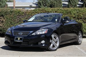 2010 Lexus IS 250C  Carfax 1-Owner  Obsidian 31964 Per Month-On Approved Credit See our ent
