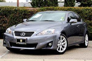 2012 Lexus IS 250  Carfax 1-Owner  Nebula Gray Pearl 25102 Per Month-On Approved Credit See