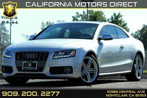 2012 Audi S5 Premium Plus Carfax 1-Owner Air Conditioning  Climate Control Air Conditioning  M