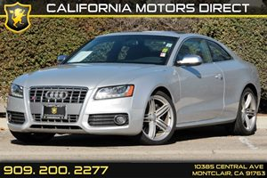 2012 Audi S5 Premium Plus Carfax 1-Owner Air Conditioning  Climate Control Air Conditioning  M