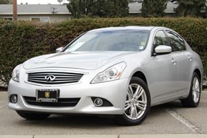 2012 Infiniti G37 Sedan x Carfax 1-Owner Air Conditioning  AC Air Conditioning  Climate Contr