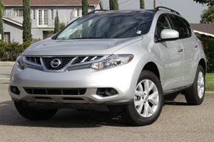 2012 Nissan Murano SV Carfax 1-Owner Air Conditioning  AC Air Conditioning  Climate Control