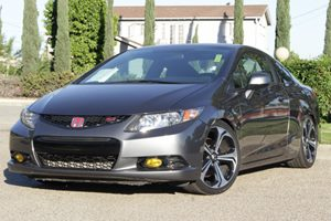 2013 Honda Civic Cpe Si Carfax 1-Owner - No Accidents  Damage Reported to CARFAX  Polished Met