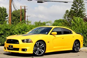 2012 Dodge Charger SRT8 Super Bee Carfax Report 20 X 90 Aluminum Wheels Air Conditioning