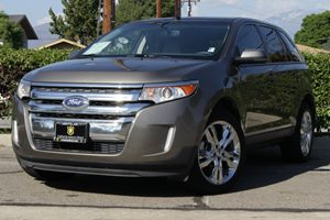 2013 Ford Edge SEL Carfax 1-Owner  Mineral Gray Metallic 21594 Per Month-On Approved Credit