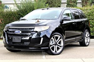 2013 Ford Edge Sport Carfax 1-Owner Air Conditioning  AC Air Conditioning  Multi-Zone AC Au