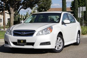 2012 Subaru Legacy 25i Carfax 1-Owner  Satin White Pearl 17307 Per Month -OnApproved Credit