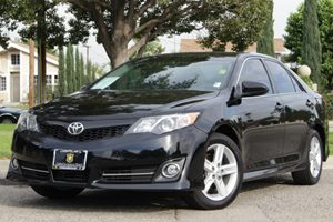 2012 Toyota Camry L Carfax 1-Owner  Attitude Black Metallic  18996 Per Month   On ApprovedCr