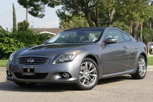 2012 Infiniti G37 Coupe Journey Carfax 1-Owner Air Conditioning  AC Air Conditioning  Climate