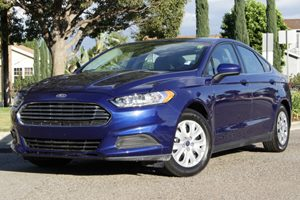 2013 Ford Fusion S Carfax Report - No Accidents  Damage Reported to CARFAX Air Conditioning  A
