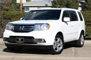 2015 Honda Pilot EX-L Carfax 1-Owner - No Accidents  Damage Reported to CARFAX  Taffeta White