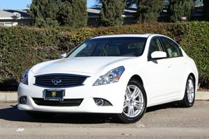 2013 Infiniti G37 Sedan Journey Carfax 1-Owner Air Conditioning  AC Air Conditioning  Climate