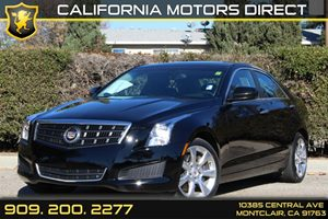 2013 Cadillac ATS  Carfax 1-Owner - No Accidents  Damage Reported to CARFAX Air Conditioning  A