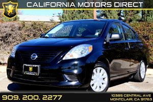 2014 Nissan Versa S Plus Carfax 1-Owner - No Accidents  Damage Reported to CARFAX  Super Black