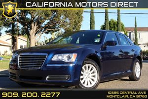 2014 Chrysler 300  Carfax Report  Blue 24193 Per Month - On Approved Credit--------