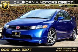 2008 Honda Civic Sdn Si Carfax 1-Owner - No Accidents  Damage Reported to CARFAX Air Conditionin