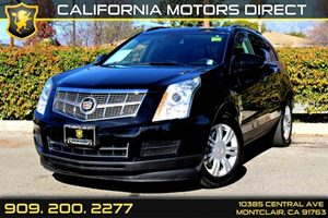 2012 Cadillac SRX Luxury Collection Carfax 1-Owner  Black Ice Metallic  Normal  0          fal