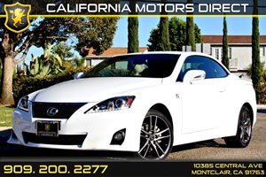 2013 Lexus IS 250C  Carfax 1-Owner Air Conditioning  AC Air Conditioning  Climate Control Ai
