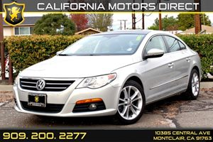 2009 Volkswagen CC Luxury Carfax Report - No Accidents  Damage Reported to CARFAX Air Conditioni