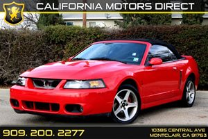 2003 Ford Mustang SVT Cobra Carfax Report - No Accidents  Damage Reported to CARFAX Air Conditio