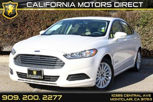 2013 Ford Fusion SE Hybrid Carfax 1-Owner Air Conditioning  AC Air Conditioning  Climate Cont