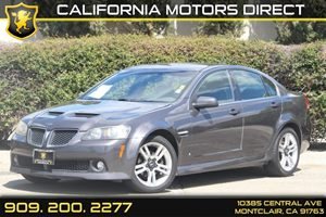 2008 Pontiac G8  Carfax Report Air Conditioning  AC Audio  AmFm Stereo Audio  Auxiliary Au