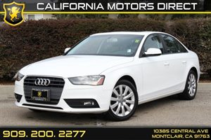 2013 Audi A4 Premium Carfax Report - No Accidents  Damage Reported to CARFAX  Glacier White Me