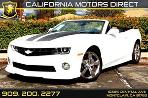 2012 Chevrolet Camaro 2SS Carfax 1-Owner Air Conditioning  AC Audio  AmFm Stereo Audio  Au