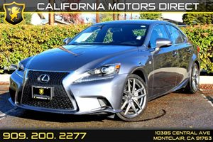 2014 Lexus IS 250  Carfax 1-Owner  Nebula Gray Pearl 38284 Per Month - On Approved Credit-