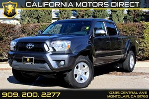 2013 Toyota Tacoma  Carfax 1-Owner - No Accidents  Damage Reported to CARFAX  Magnetic Gray Me