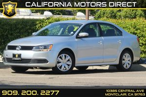 2014 Volkswagen Jetta Sedan SE Carfax 1-Owner  Moonrock Silver Metallic  Department of Motor V