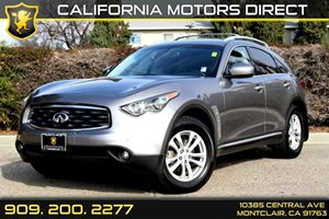 2010 Infiniti FX35  Carfax Report - No Accidents  Damage Reported to CARFAX Air Conditioning  A