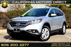 2013 Honda CR-V EX-L Carfax 1-Owner - No Accidents  Damage Reported to CARFAX  Alabaster Silve